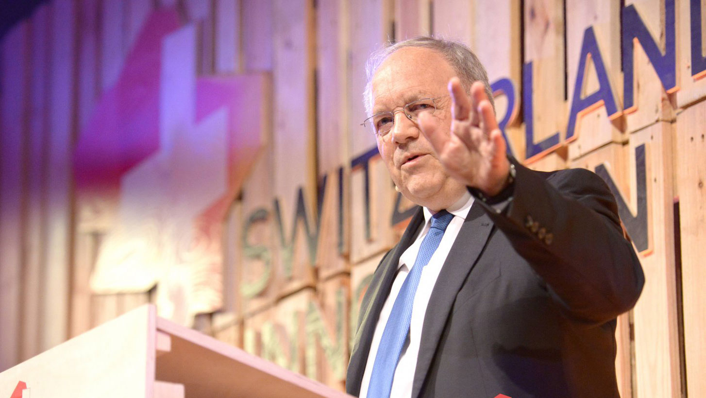 <p>It is important for Switzerland to maintain its top position as a country of innovation, says federal councilor Johann Schneider-Ammann. (Picture: Switzerland Innovation Park Zurich</p>