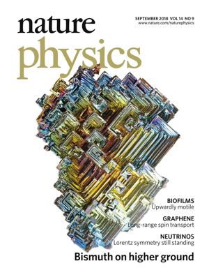 Bismuth Cover Nature Physiscs